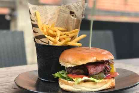 Jeans Kitchen & Wine Bar - Choice of Burger and Beer for Two or Four - Save 61%
