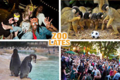 London Zoo - Ticket to Zoo Lates on the 6th or 13th July - Save 50%