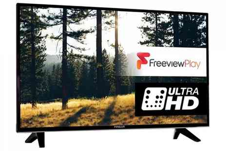 Groupon Goods Global GmbH - Finlux 43 Inch 4K Ultra Hd Smart Tv With Free Delivery - Save 57%