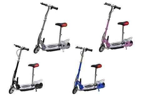 Groupon Goods Global GmbH - One or Two 140W Foldable Electric Scooters with Seat With Free Delivery - Save 29%