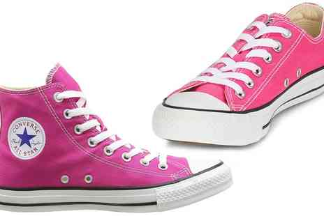 Groupon Goods Global GmbH - Low or High Converse Sneakers - Save 83%