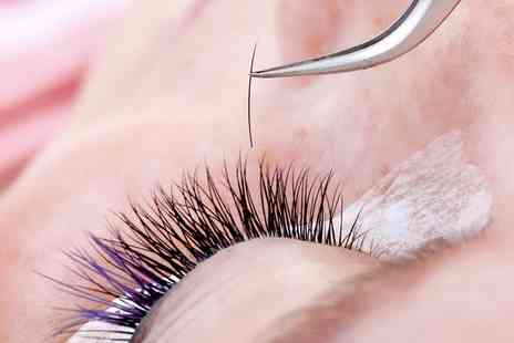Pura Vida - Choice of Eyelash Extensions with Brow Shape and Tint - Save 37%
