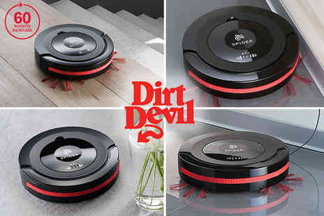 Thames Distribution - Dirt Devil Spider robot vacuum cleaner - Save 54%