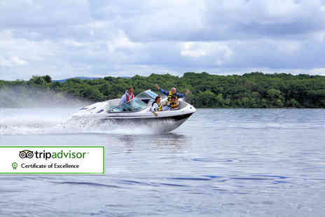 Loch Lomond Leisure Scotland - 30 minute private luxury speedboat tour for up to seven - Save 52%
