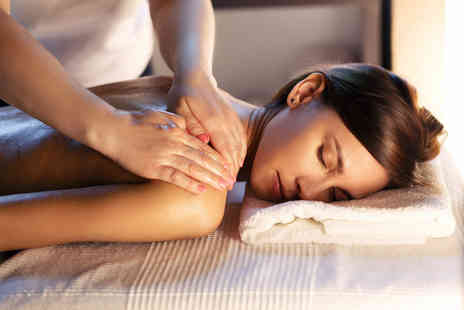 Beauty & Blush Salon - One hour pamper package including holistic back, neck and shoulder massage and facial - Save 49%