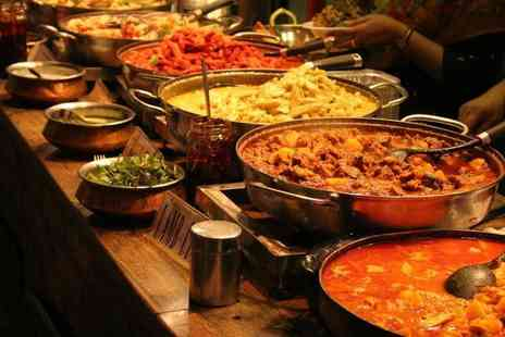 Standard Balti House - Two course dinner for two rice or naan each and a side to share include drinks - Save 0%