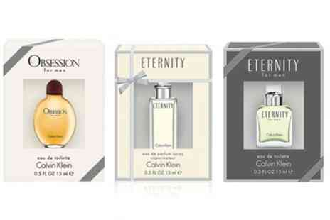 Groupon Goods Global GmbH - Calvin Klein Womens or Mens Fragrance Bundle - Save 0%