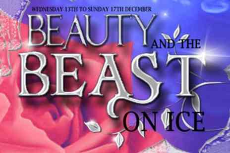 John Nike Leisure centre - Beauty and The Beast on Ice ticket on 15 and 17 December - Save 37%