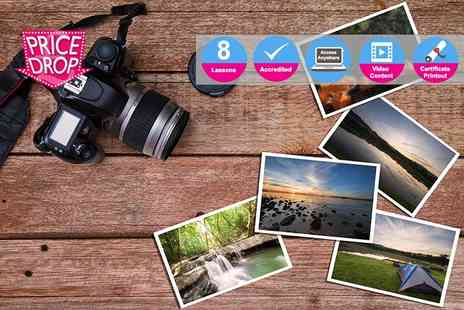 Live Academy Education - Accredited photography masterclass diploma - Save 98%