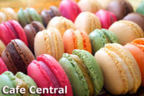 Cafe Central - Two and a half hour macaroon making workshop - Save 81%
