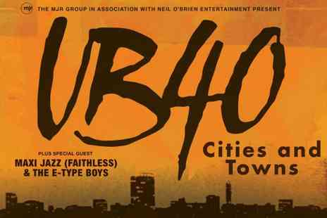 UB40 - Standing Ticket to UB40 on 6 December in Newcastle, or 14 December in Newport - Save 33%