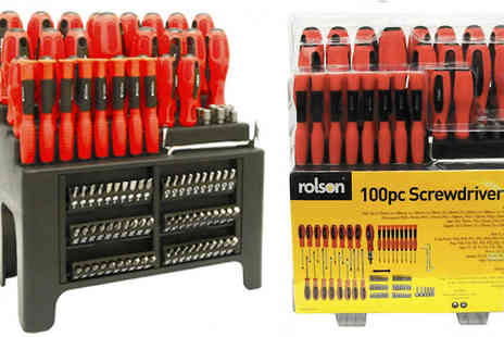 M&M Deals - 100 Piece Screwdriver Set - Save 17%