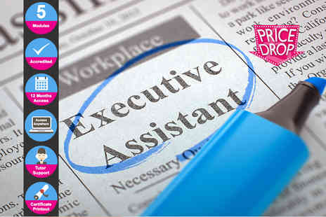 EventTrix - Accredited executive assistant course - Save 88%