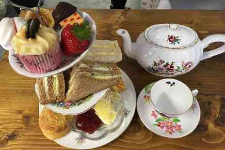 Time for Tea - Afternoon tea for two - Save 43%