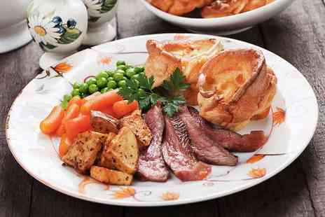 Swan in the Rushes - Sunday roast and a drink for two or four - Save 35%