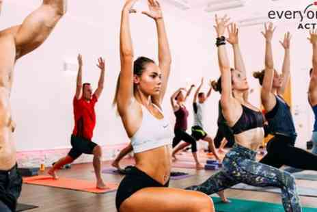Everyone Active - Five Hot Yoga Classes - Save 0%