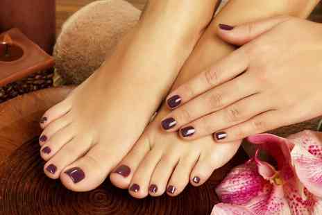 Novela Beauty - Gel or Spa Manicure, Pedicure or Both - Save 0%