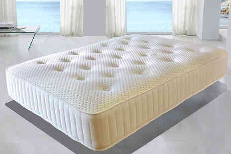 Desire Beds - Single, small double or double, king or super king size Ultimate 4000 memory foam pocket sprung mattress - Save 87%