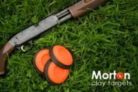 Morton Clay Targets - Clay Pigeon Shooting Plus Lesson - Save 0%