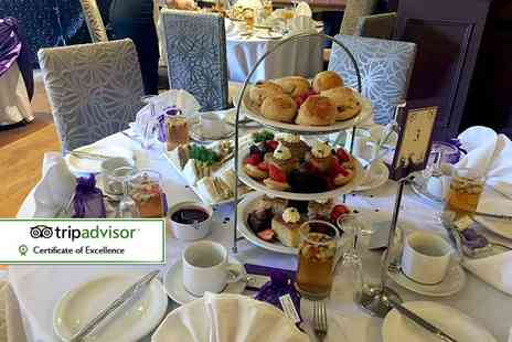 The Best Western Valley Hotel - Afternoon tea for two - Save 52%