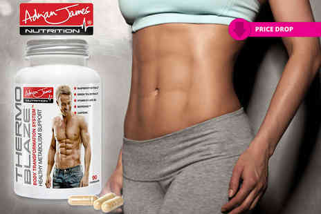 Adrian James Nutrition - Adrian James Nutrition Thermoblaze 90 capsule tub - Save 60%