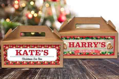 Shop Sharks - Personalised Christmas Eve box choose from four designs - Save 80%