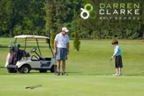 Darren Clarke Golf School - Childrens Golf Coaching One Lesson or One-Week Course - Save 51%