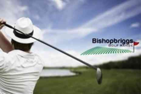 Bishopbriggs Golf Range - Golf Tuition Two 45-Minute Lessons With PGA Professional For Two - Save 76%