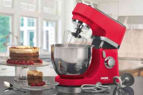 Groupon Goods Global GmbH - Cooks Professional 800W Stand Mixer With Free Delivery - Save 80%