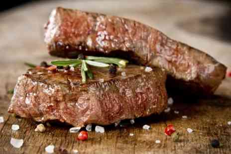 Ye Olde Toll House Restaurant - 8oz Sirloin Steak Meal with Wine or Beer for Two or Four - Save 49%