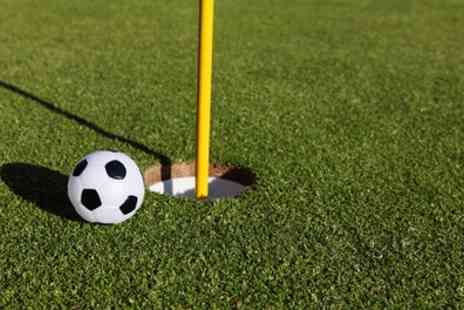 Leen Valley Golf Club - Nine Holes of Footgolf for Two or Four - Save 60%
