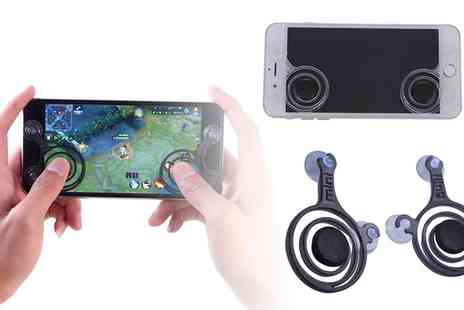 Groupon Goods Global GmbH - One or Two Silicone Joysticks for Mobiles or Tablets - Save 78%