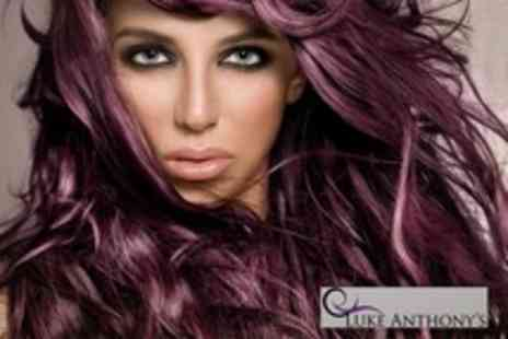 Luke Anthonys - Cut and Blow Dry With Half Head of Highlights or Full Head of Colour - Save 60%
