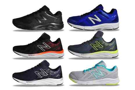 Groupon Goods Global GmbH - New Balance Mens and Womens Premium Running and Gym Trainers - Save 45%