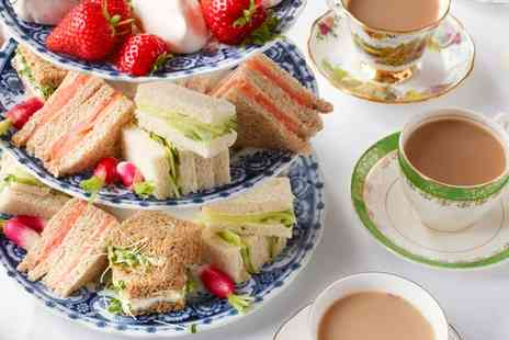 Cedar Court - Traditional or Sparkling Afternoon Tea and Health Club Pass for Two or Four - Save 0%