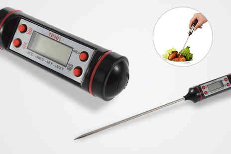 CheekyBox - Digital Food Probe Thermometer - Save 58%