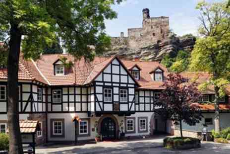 Relais & Chateaux Hardenberg BurgHotel - Two night luxury castle hotel stay with meals - Save 0%