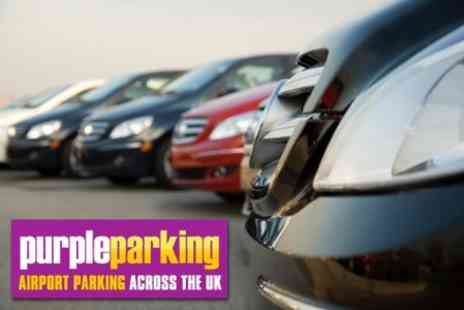 Purple Parking - Upto Four Days Parking at Heathrow Airport - Save 74%