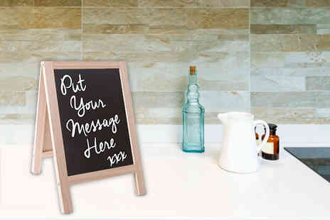 London Exchain Store - Double sided chalkboard stand - Save 70%