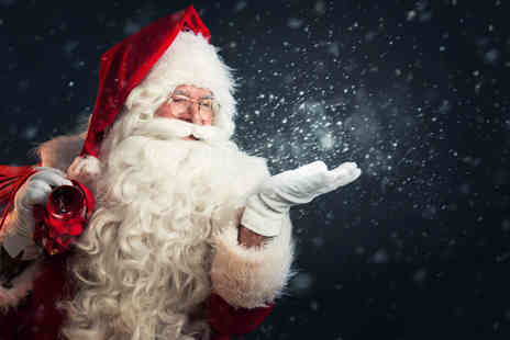 Magical Santas Grotto - Entry for one child and up to two adults to Magical Santas Grotto visit Santa, hear stories from elves, take an express train and get a gift to take home - Save 0%