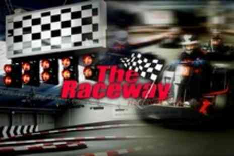 The Raceway - 90 Minute Go Karting Race Experience With Food, Drink, and Minibus Transfers - Save 67%