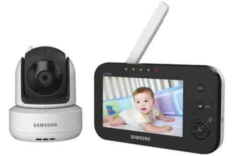 Groupon Goods Global GmbH - Samsung Baby Monitoring Ir Night Vision With Free Delivery - Save 15%