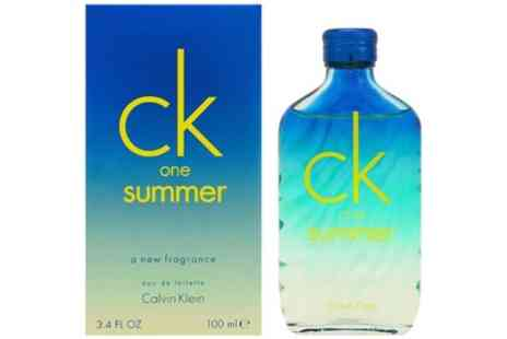 Groupon Goods Global GmbH - One or Two Bottles of Calvin Klein CKkOne Summer Edition 100ml Edt - Save 40%