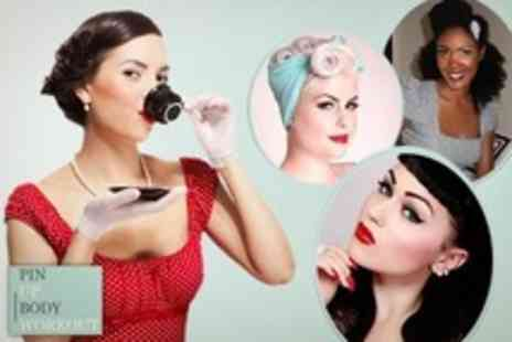 Pin Up Body Workout - 1940s Style Makeover and Vintage Afternoon Tea For One With Optional  Two Hour Workout - Save 46%