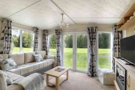 The Park - Two to Seven Night Caravan Stay for Four with Cream Tea  - Save 42%