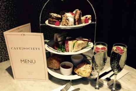 Cafe Society - Afternoon Tea with Optional Prosecco for Two - Save 42%