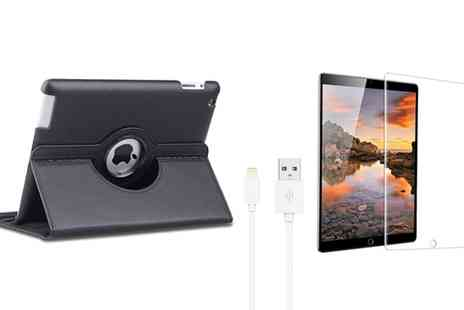 Groupon Goods Global GmbH - Apachie Accessories Pack for iPad 2, 3 And 4, Air 1 or 2, Pro 9.7 Inch, Mini or Mini 2 - Save 85%