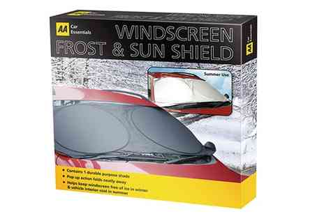Groupon Goods Global GmbH - Aa Frost and Sun Windscreen Shield - Save 0%