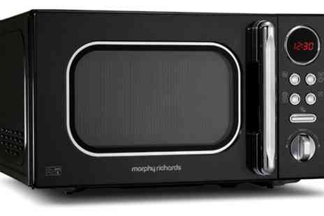Groupon Goods Global GmbH - Morphy Richards Microwave 800W With Free Delivery - Save 15%