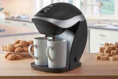 Groupon Goods Global GmbH - Cooks Professional Coffee Maker with Cups - Save 66%